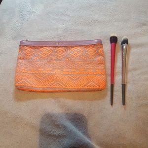 Sephora foundation Brushes and Sephora Makeup Bag